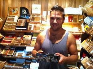 Zac Farnden Ashtray Winner