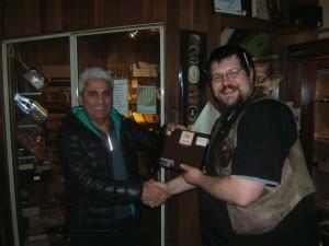 October Dunhill Cigar Winner