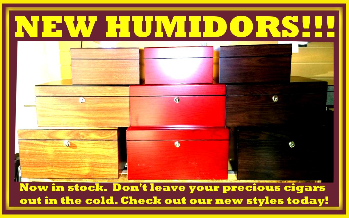 New Humidors